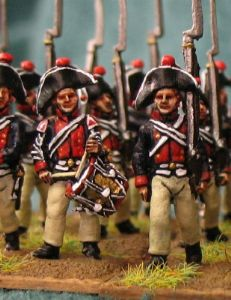 15mm, Napoleonic Prussian Musketeer (1806) AB 24 figures